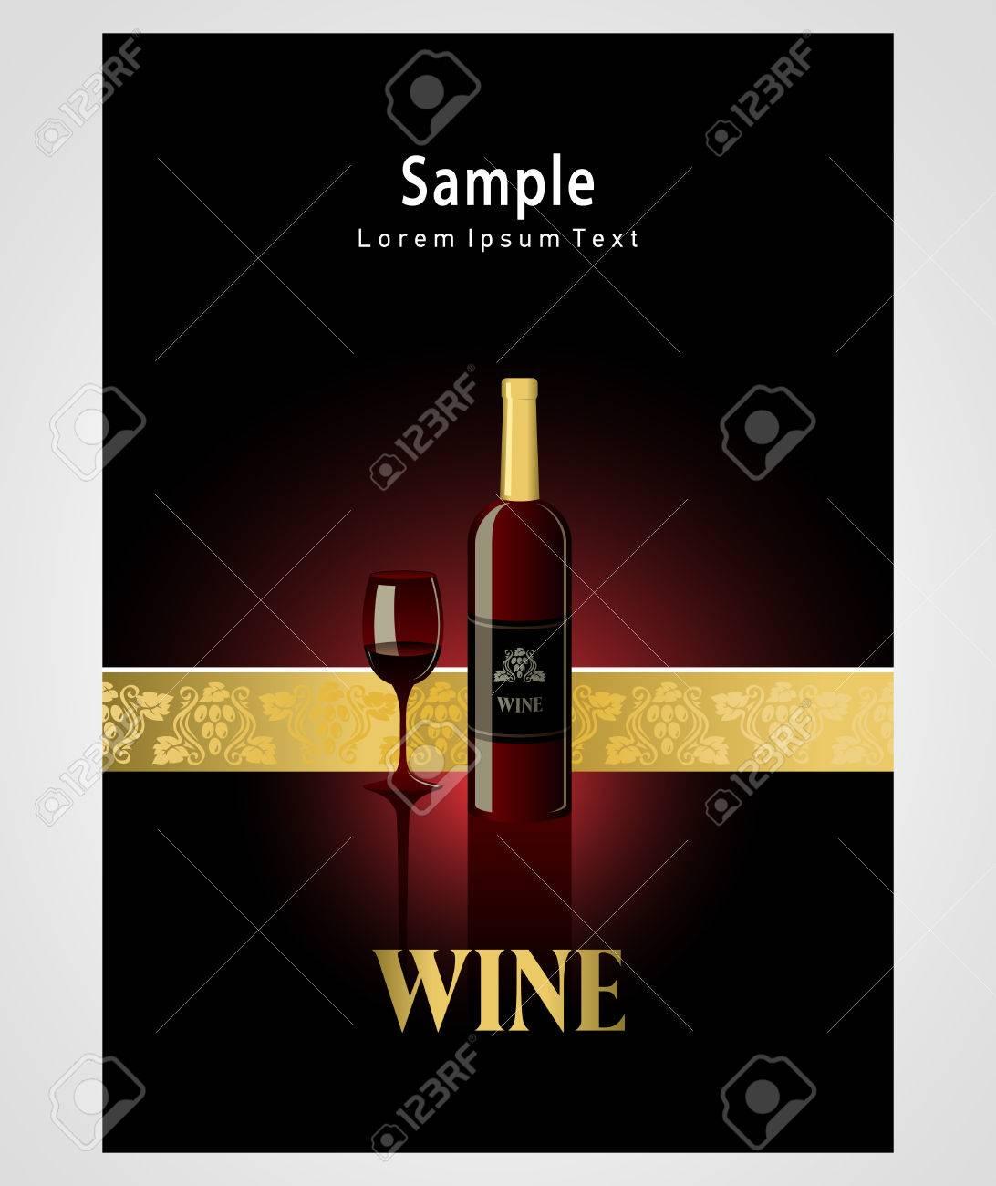 cover poster face wine red vine grape ornament - 57696644
