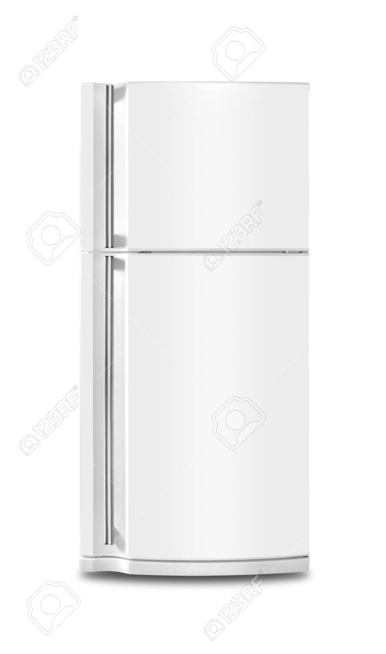 Major appliance - The Refrigerator fridge on a white background. Isolated - 88224258
