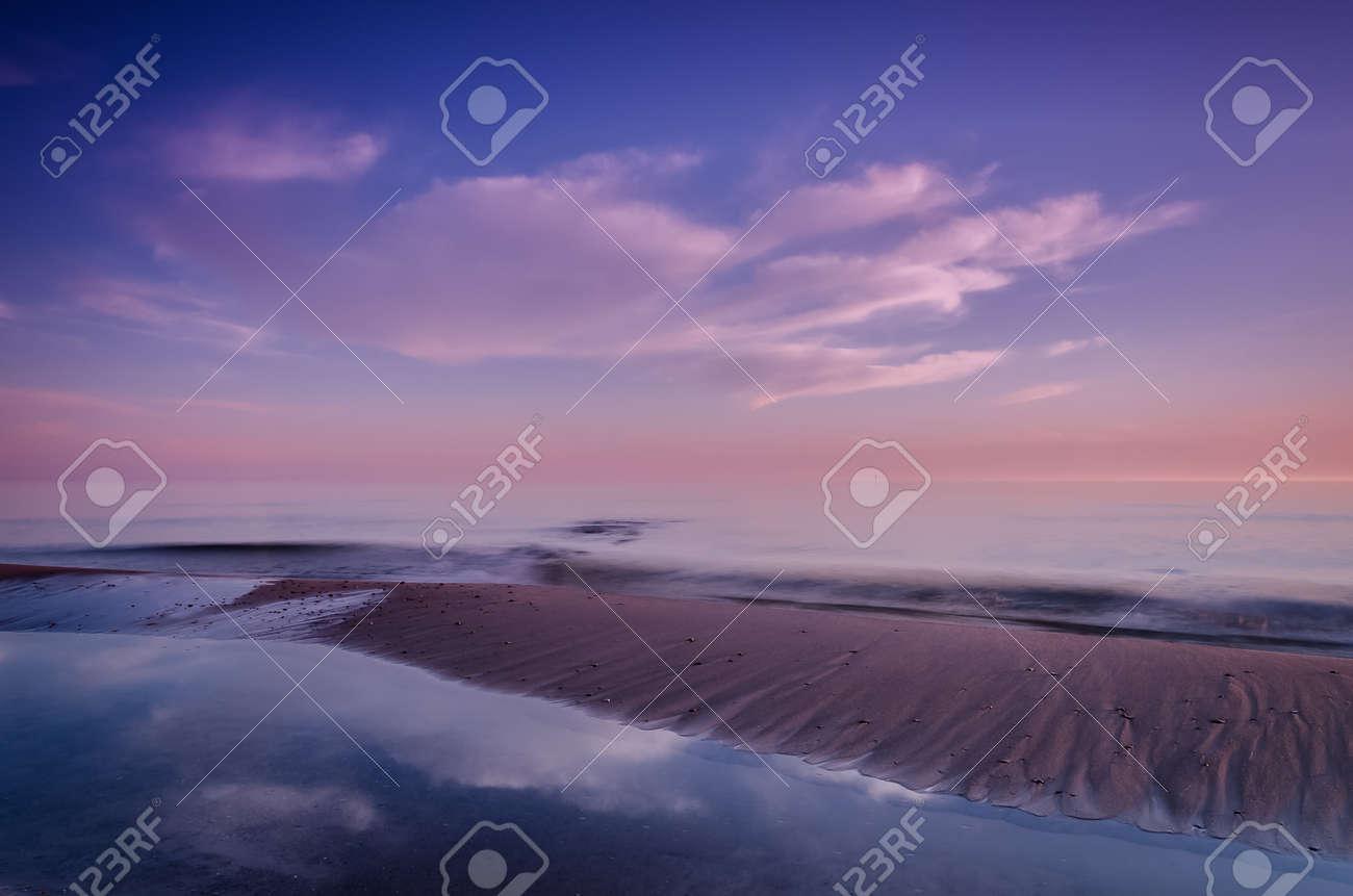 SUNRISE - Sunny morning on the sea coast - 171665944