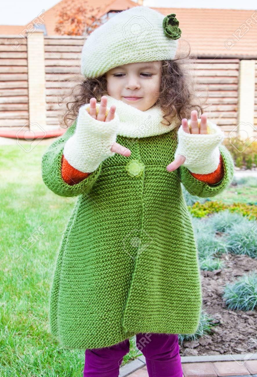 Abrigos tejidos para jovenes