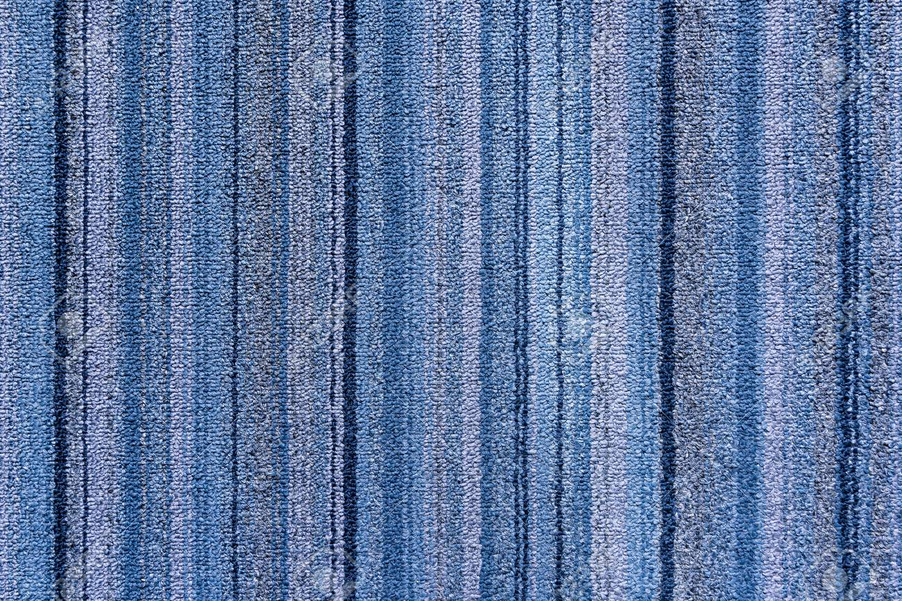 The Strip Texture Of The Carpet In Meeting RoomThe Blue Carpet
