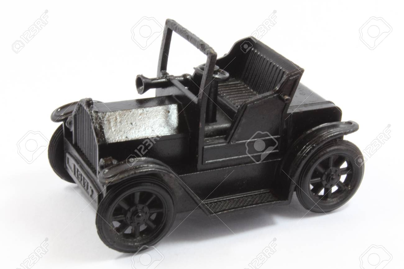 Model black Jeep on white blackground Stock Photo - 20630255