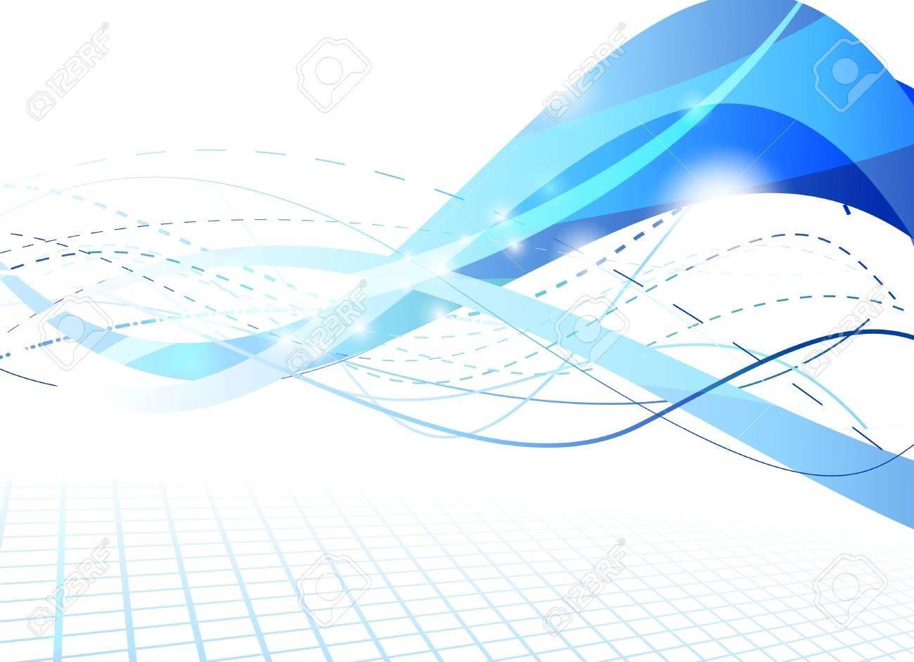 Flare futuristic background. Vector illustration Stock Vector - 8413948
