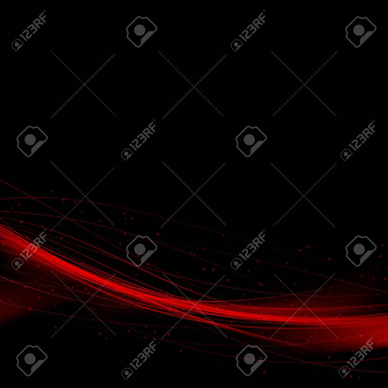 Bright red speed swoosh abstract lines background. Vector illustration - 36991024