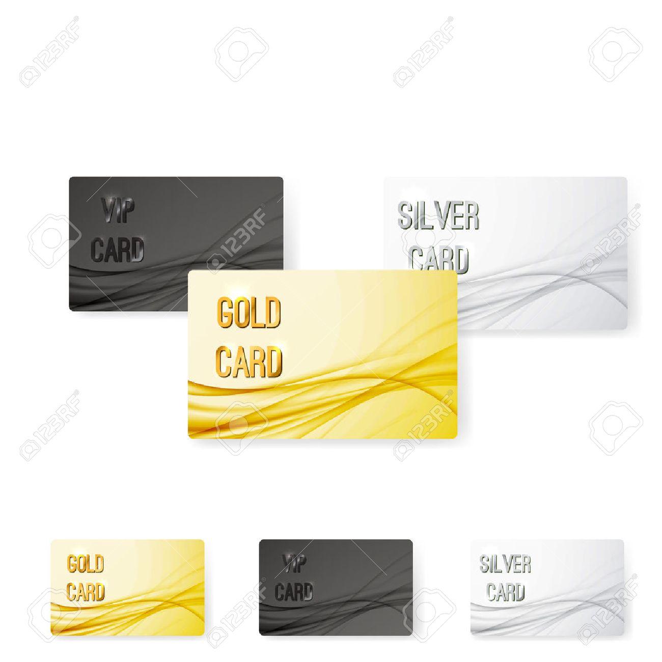 Glatte Swoosh Wellenlinie Premium-Mitgliedschaft Kartensammlung Für ...
