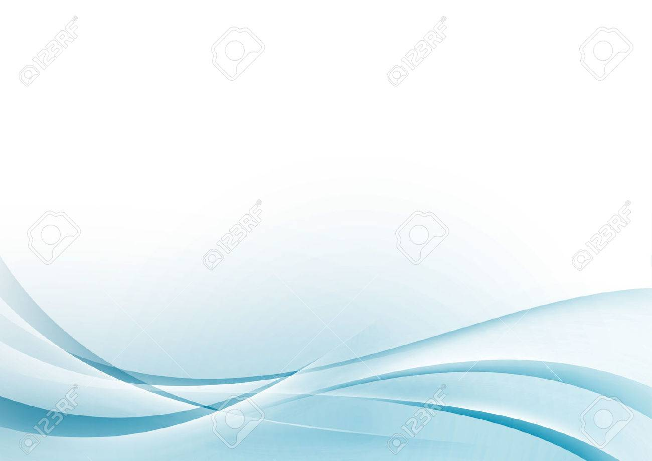 Blue Transparent Wave Abstract Certificate Background Border ...