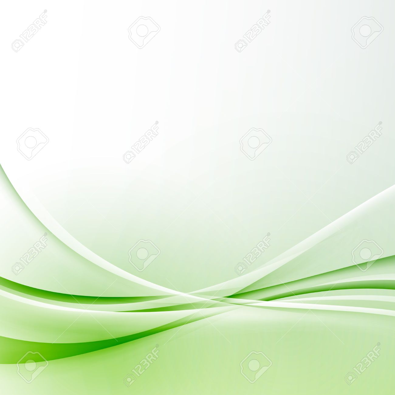 Green Wave Border Abstract Modern Certificate Background Border ...