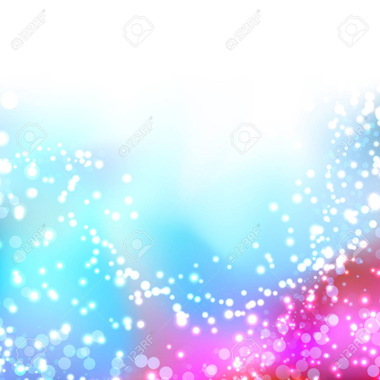 Bright Colorful Shimmering Seasonal Background Lens Flare Abstract