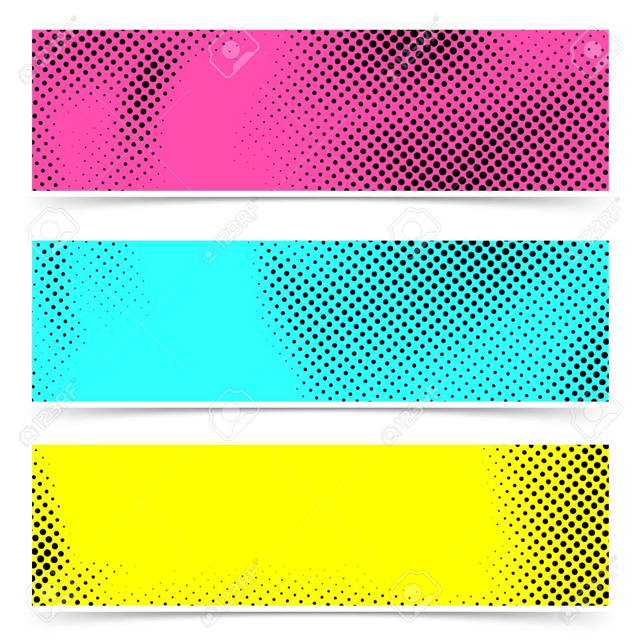 6e1d87d79ee5 Colorful dotted retro grain pop art comic style. Stock Vector - 88366286