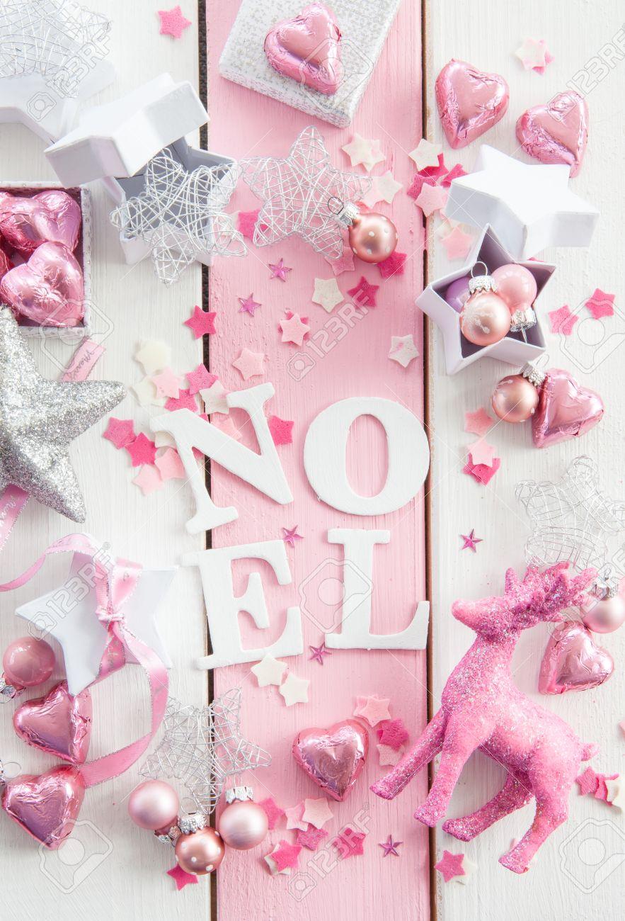 Decorations pink photo catalog photo