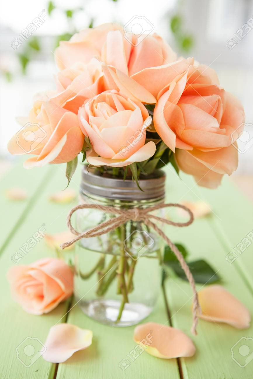 fresh peach roses on rustic wooden background stock photo picture and royalty free image image 56190356 fresh peach roses on rustic wooden background stock photo picture and royalty free image image 56190356