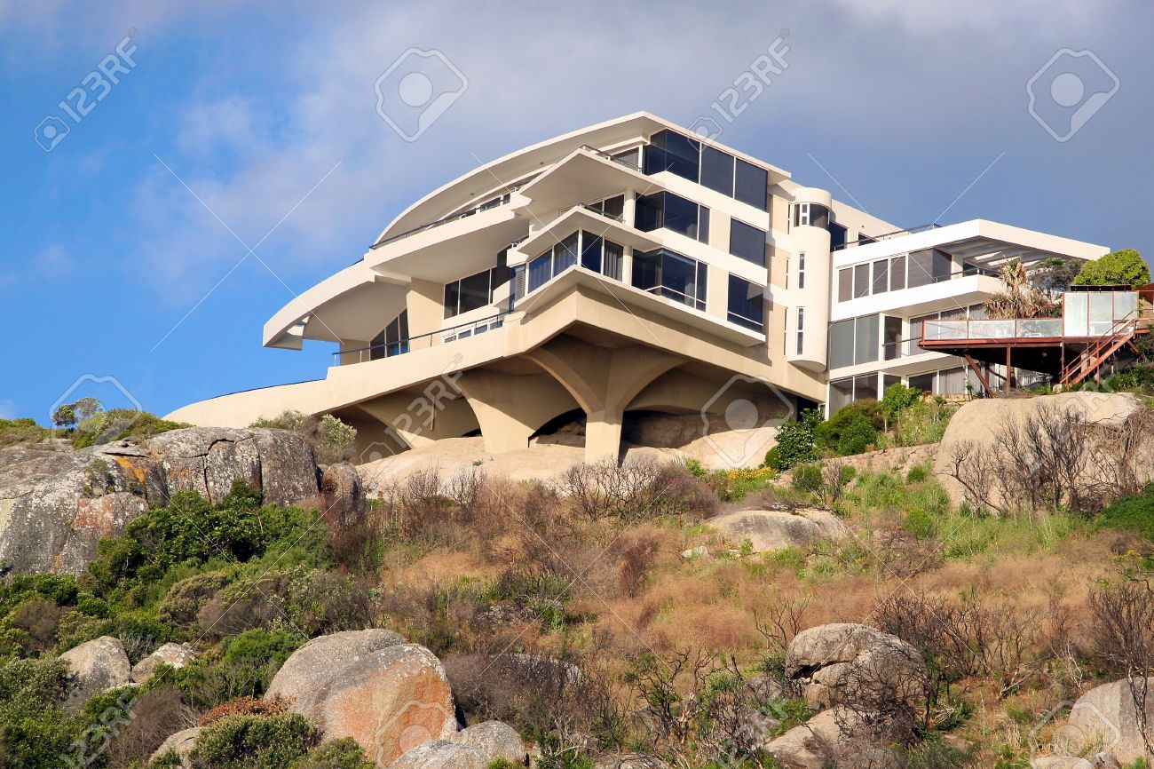Luxury house in cape town stock photo 11458662