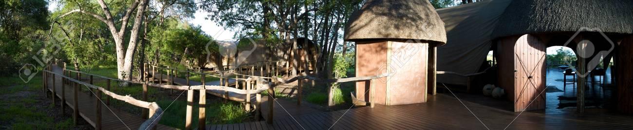 Lodge in Moremi Game Reserve - Botswana Stock Photo - 12668580