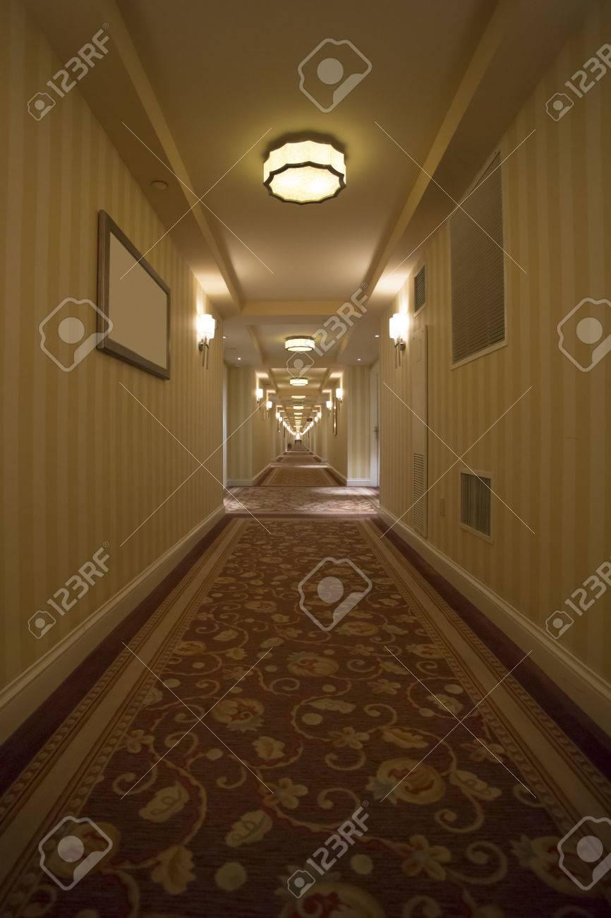 banque dimages htel de luxe couloir avec sol recouvert de moquette belle - Moquette De Luxe
