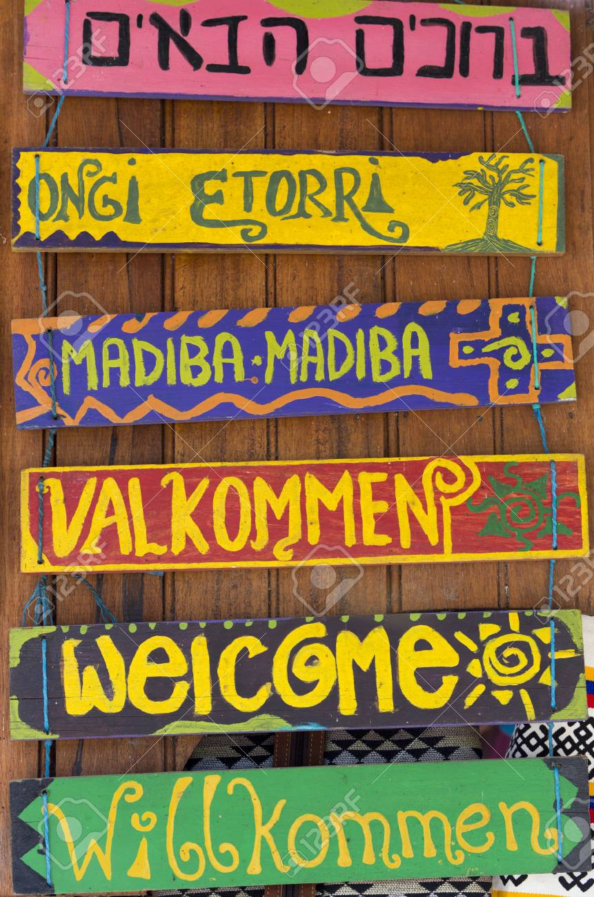 Greeting hello wooden signs written in different languages stock greeting hello wooden signs written in different languages stock photo 73999663 m4hsunfo