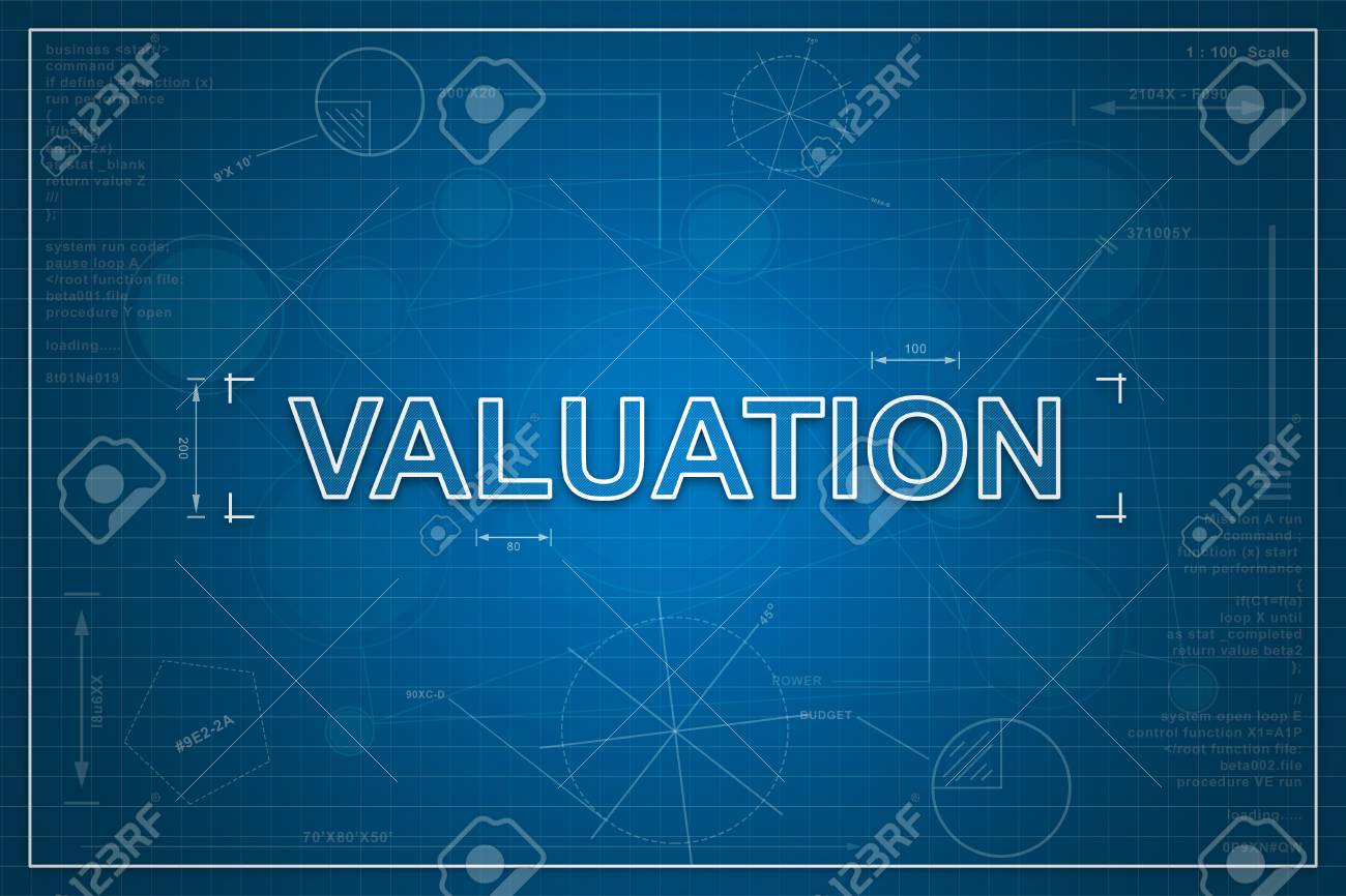 Financial valuation on paper blueprint background business concept financial valuation on paper blueprint background business concept stock photo 58944541 malvernweather Image collections