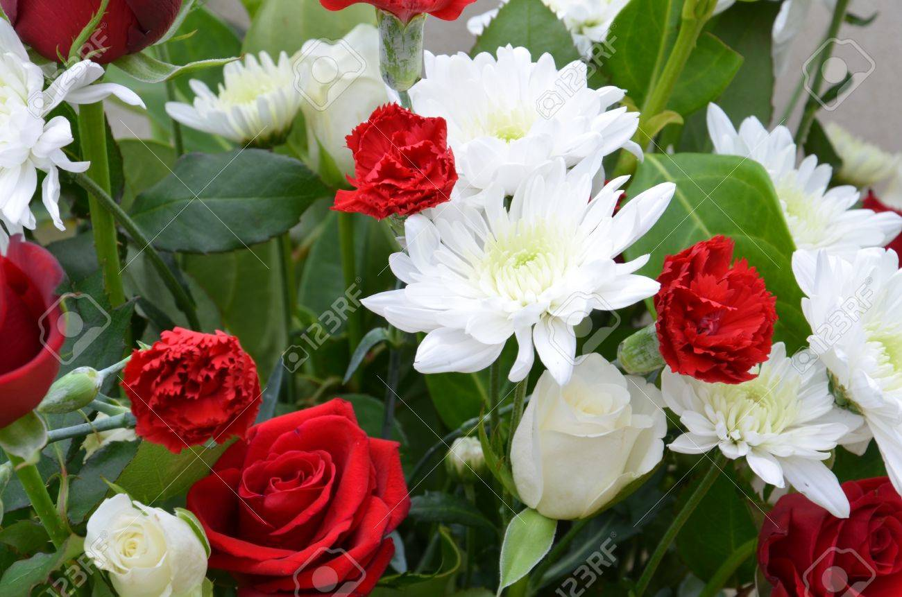 a big bunch of mixed flowers stock photo picture and royalty free