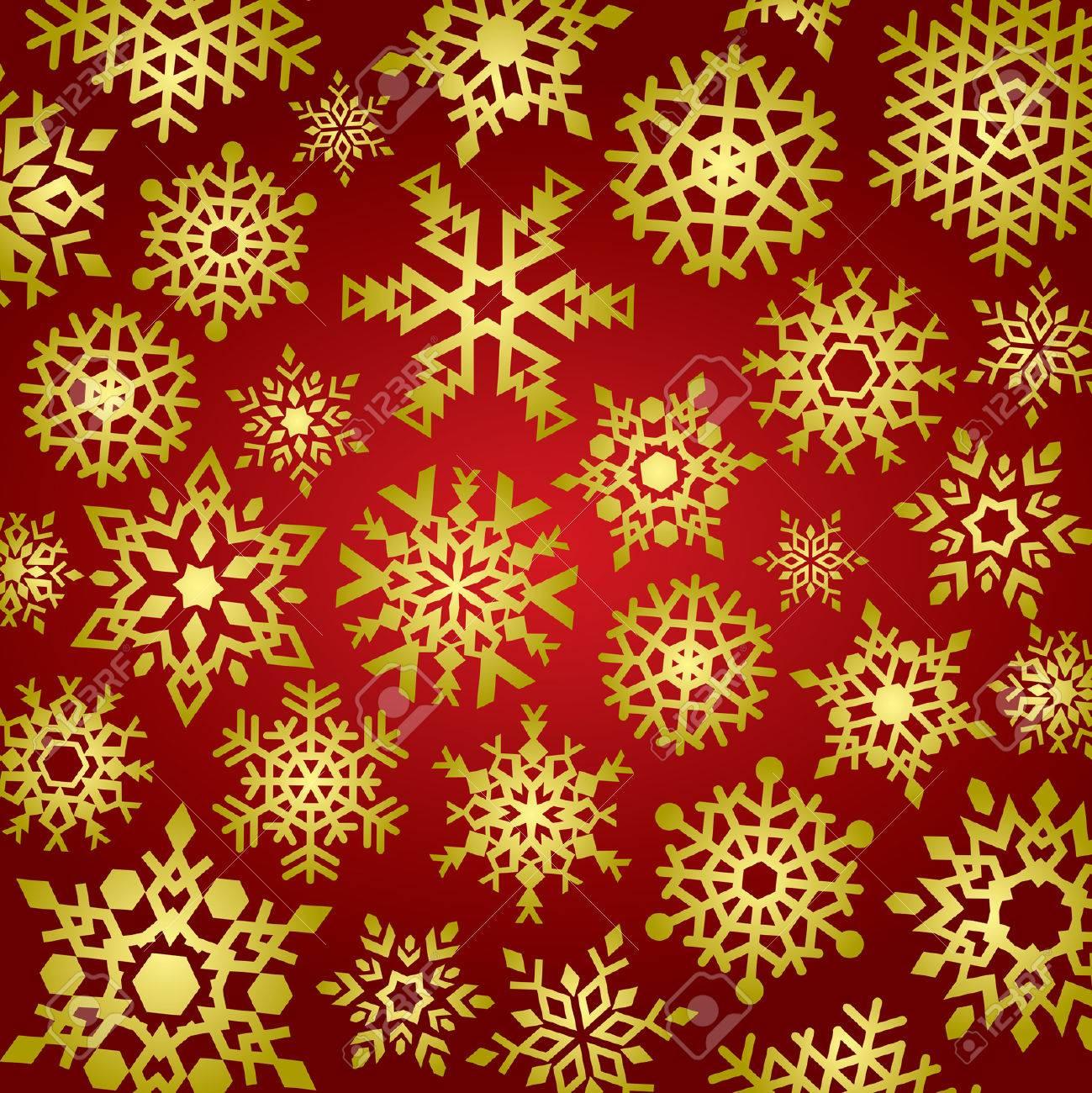 Snowflakes Background Stock Vector - 1989495