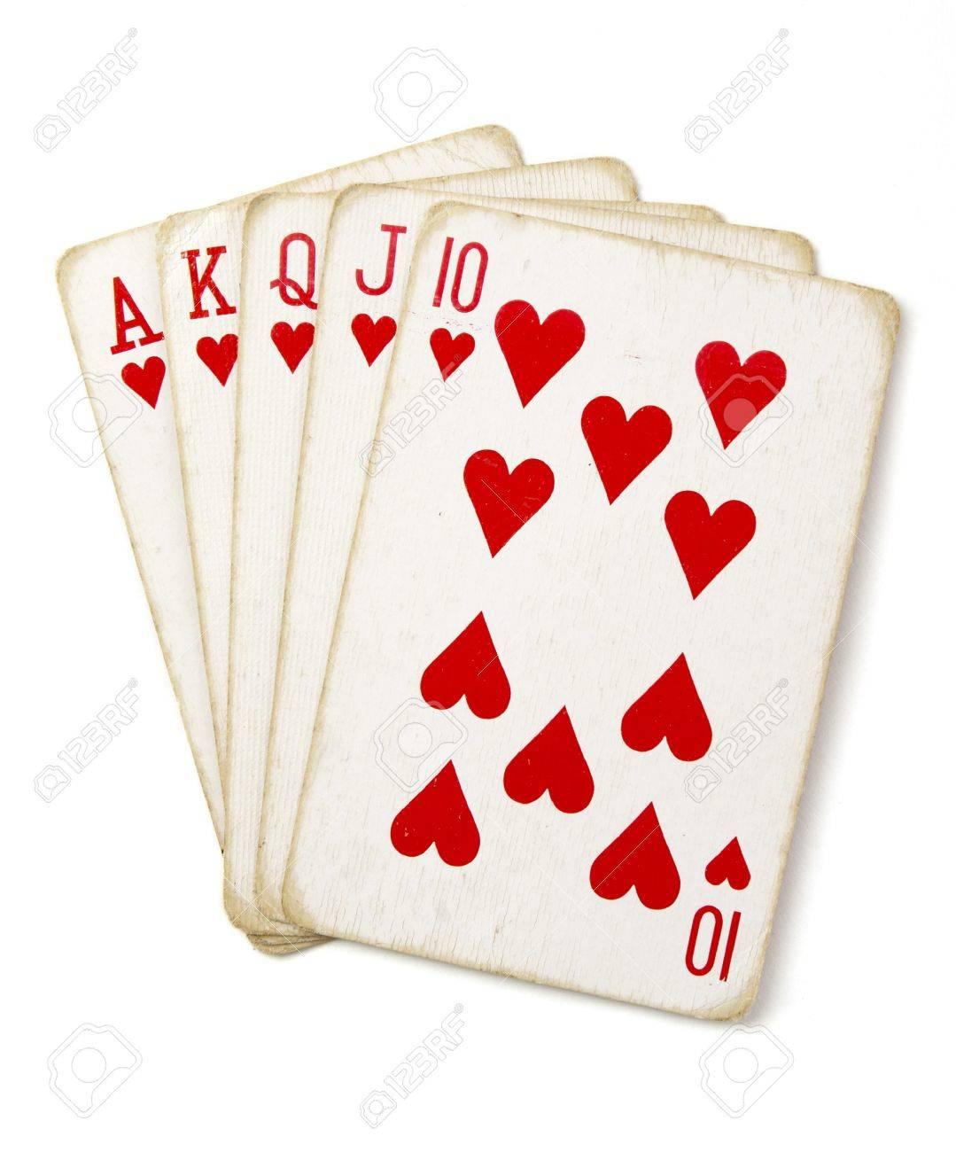 Straight poker game thunderstruck ii video slot