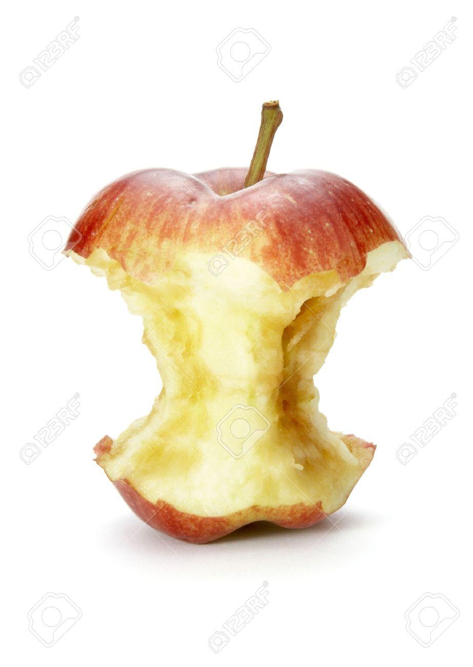 4383255-close-up-of-half-eaten-apple-on-