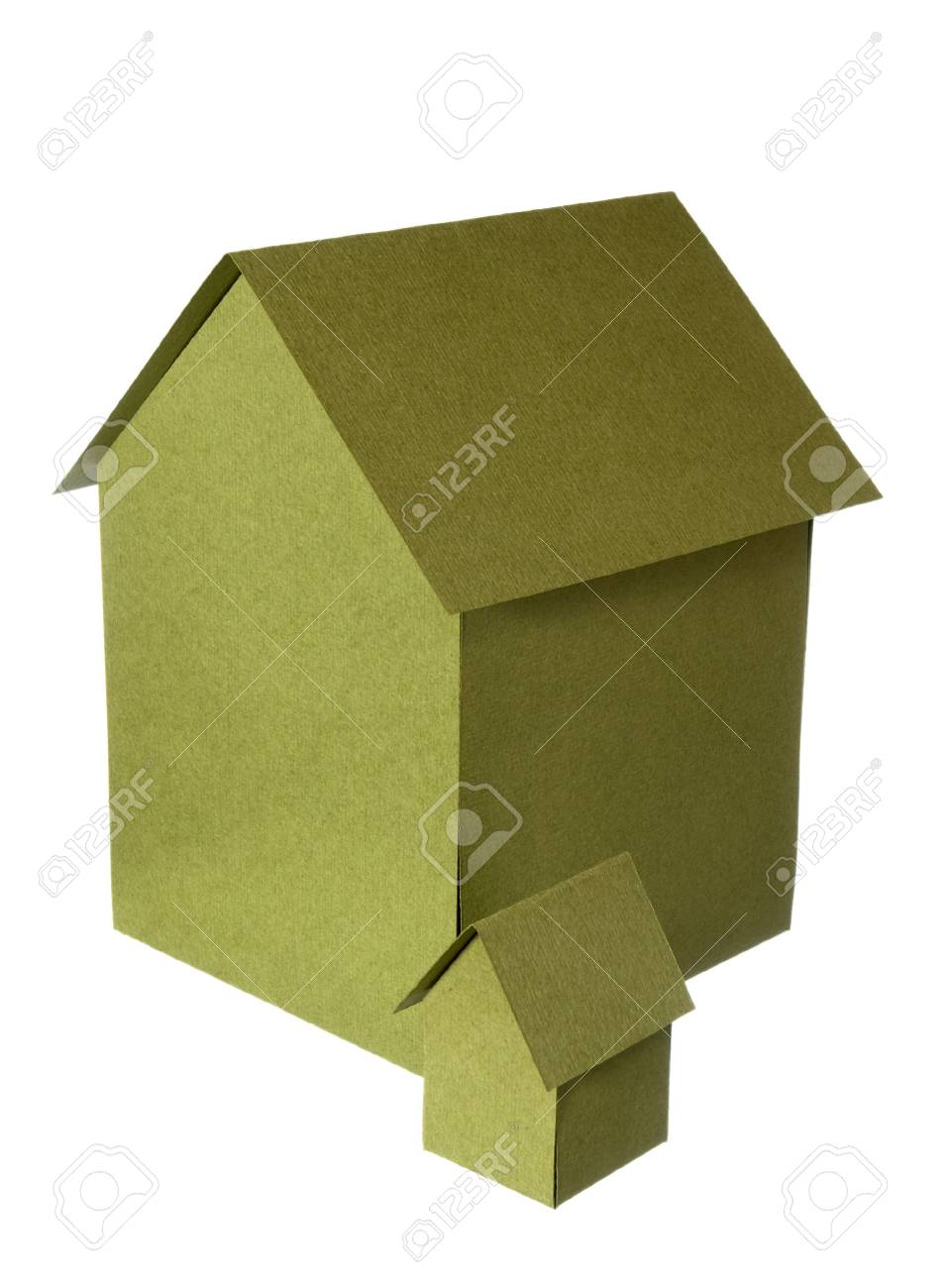close up of miniature house  on white background Stock Photo - 4719945