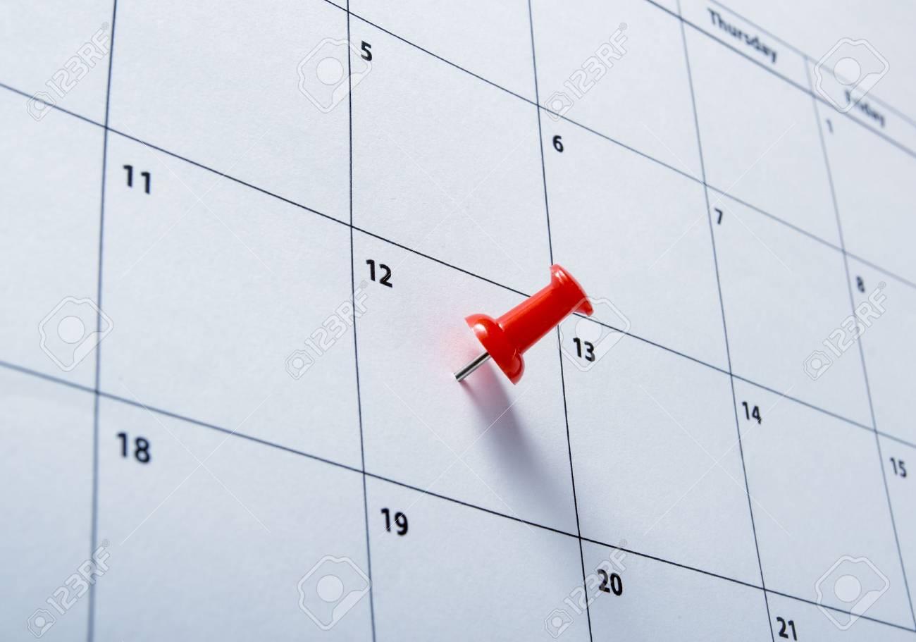 close up of a calendar Stock Photo - 4848539