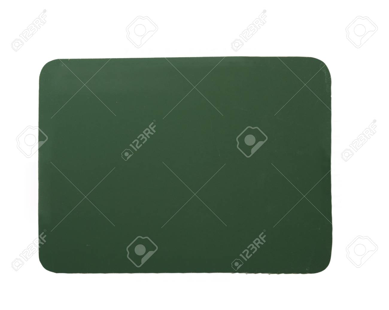 close up of blackboard on white background with clipping Stock Photo - 4983458