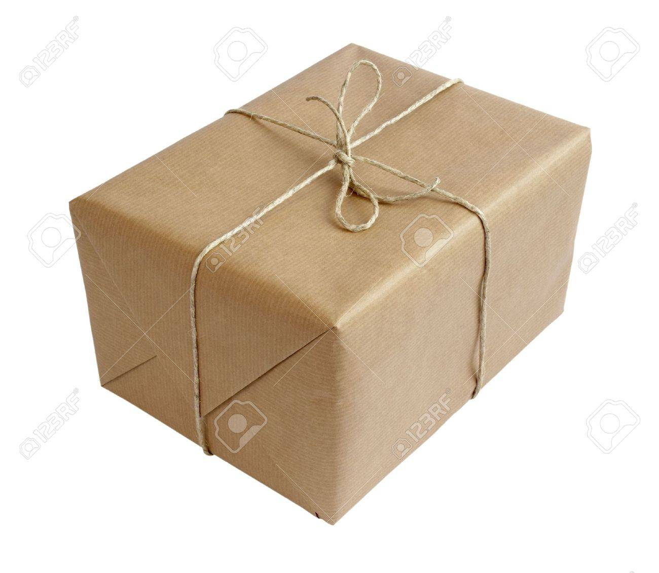 close up of carton  box post package Stock Photo - 5223372