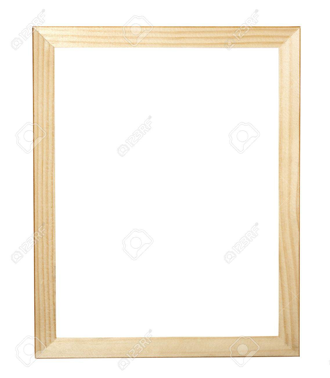 Wooden Frame For Painting Or Picture Stock Photo, Picture And ...