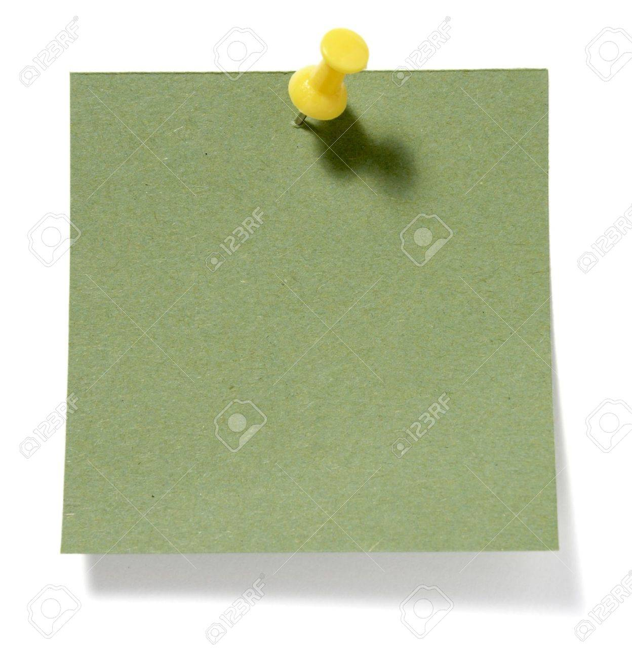 close up of postit reminders on white background Stock Photo - 5380504