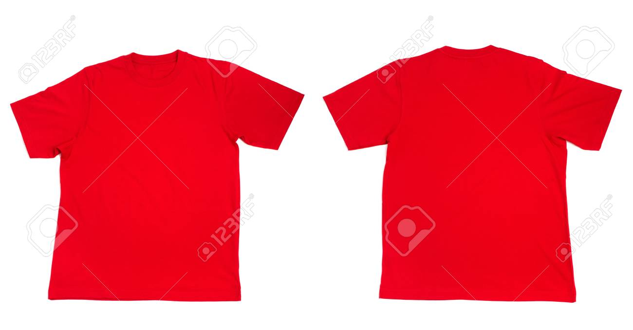 collection of  t shirts on white background Stock Photo - 5870332
