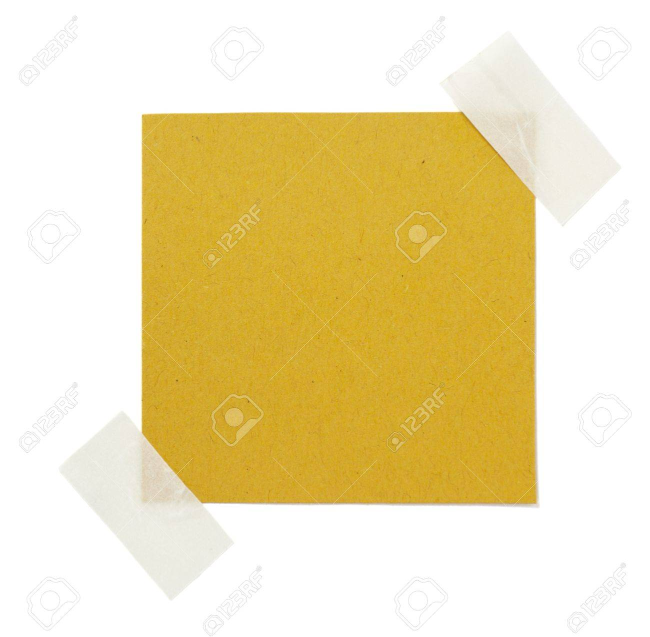 old brown grunge paper on white background Stock Photo - 6258959