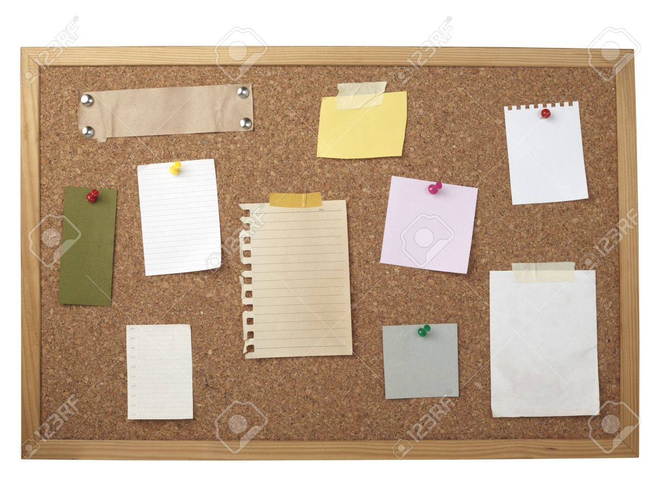 yellowed sheet of wood images stock pictures royalty free collection of various note papers on cork board stock photo pinboard yellowed sheet of