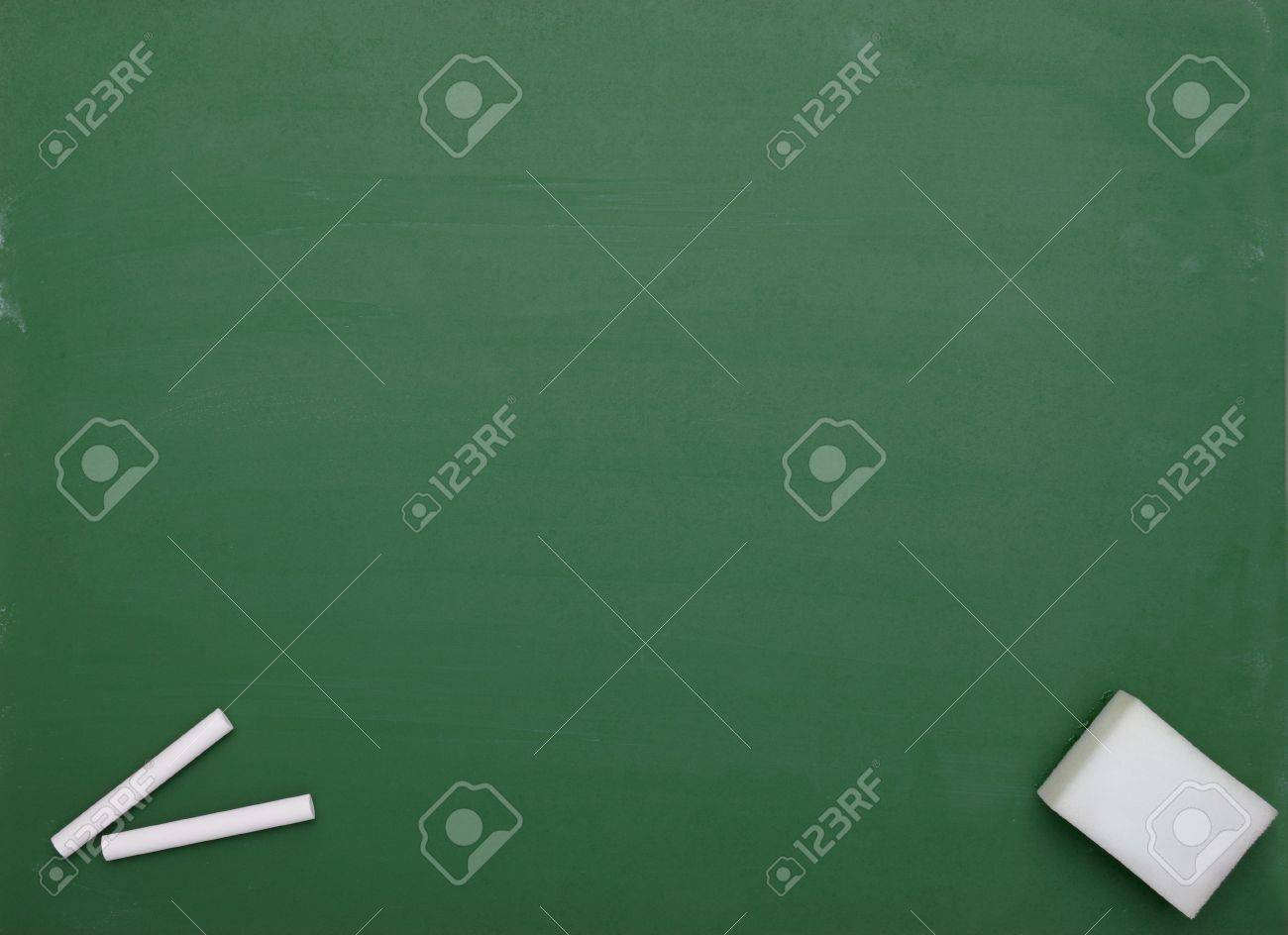 close up of an empty  chalk board Stock Photo - 7431667
