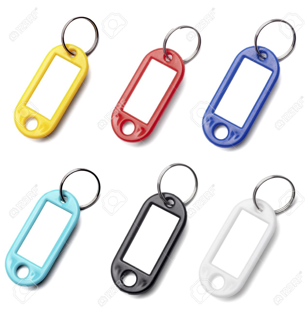 collection of a key fob on white background. each one is in full cameras resolution Stock Photo - 7513265