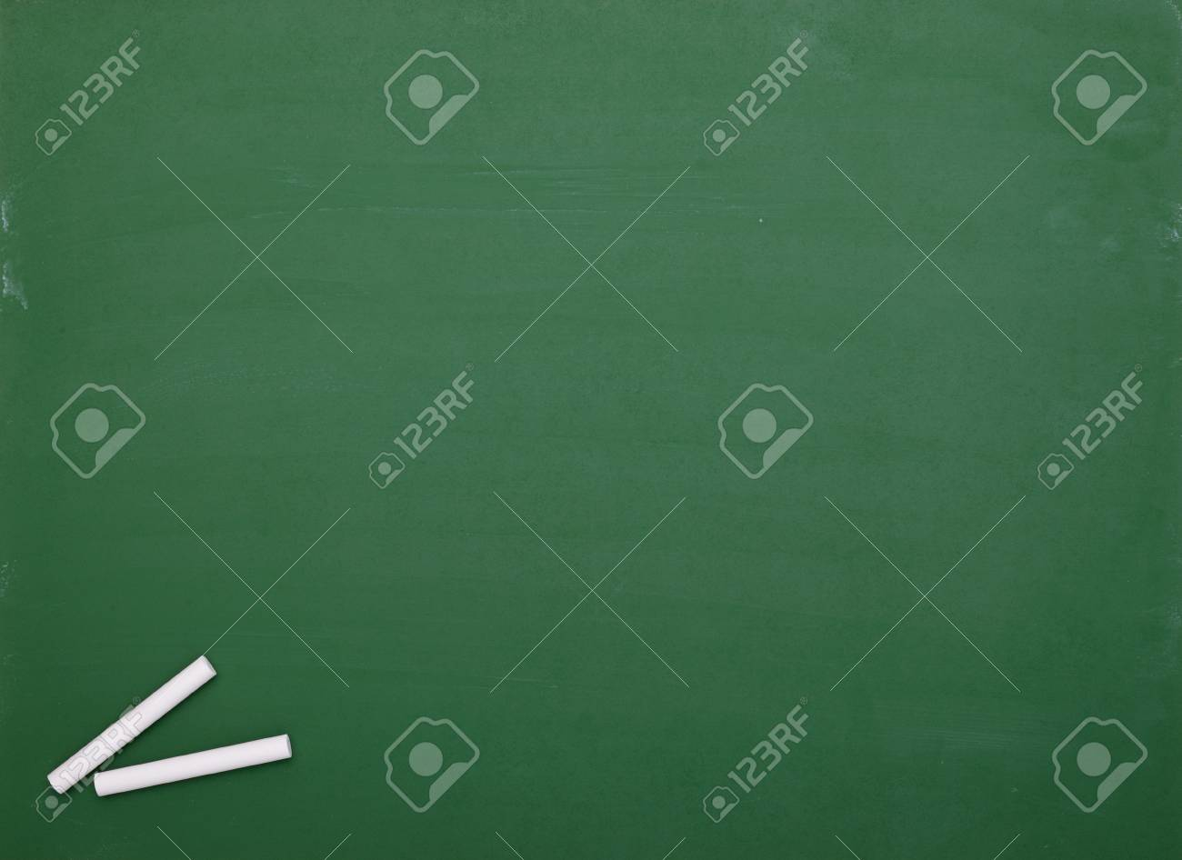 close up of an empty  chalk board Stock Photo - 7832592