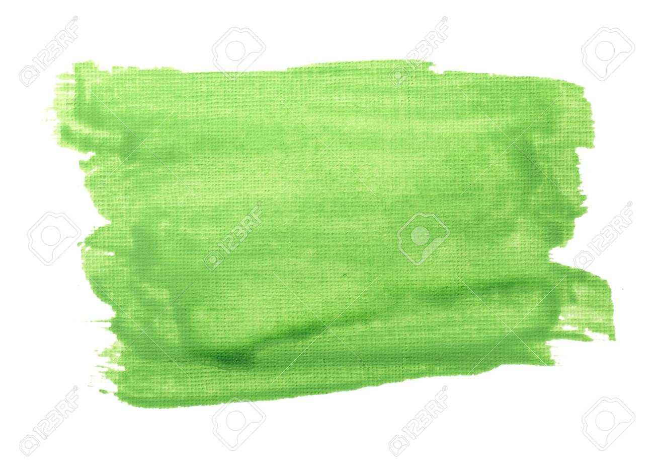 close up of  color strokes on white background Stock Photo - 7981104