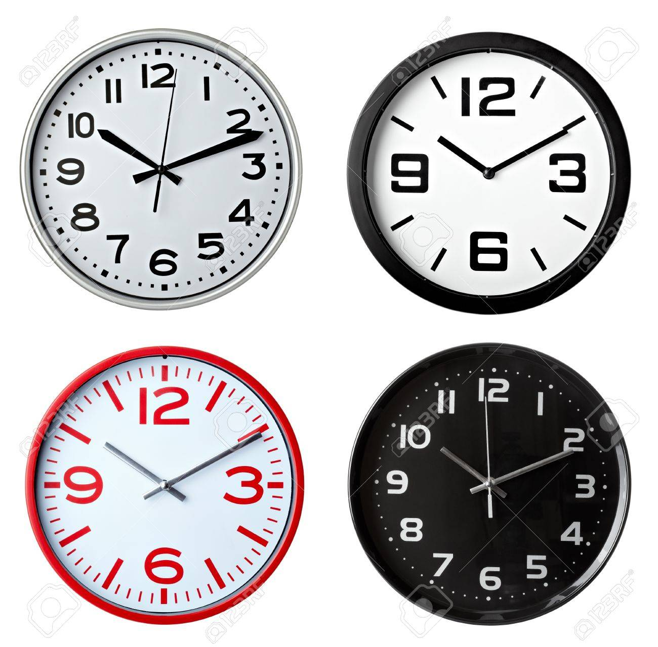 office large size floor clocks wayfair. Office Clocks. Collection Of Various Clocks On White Background. Each One Is Shot Large Size Floor Wayfair 4