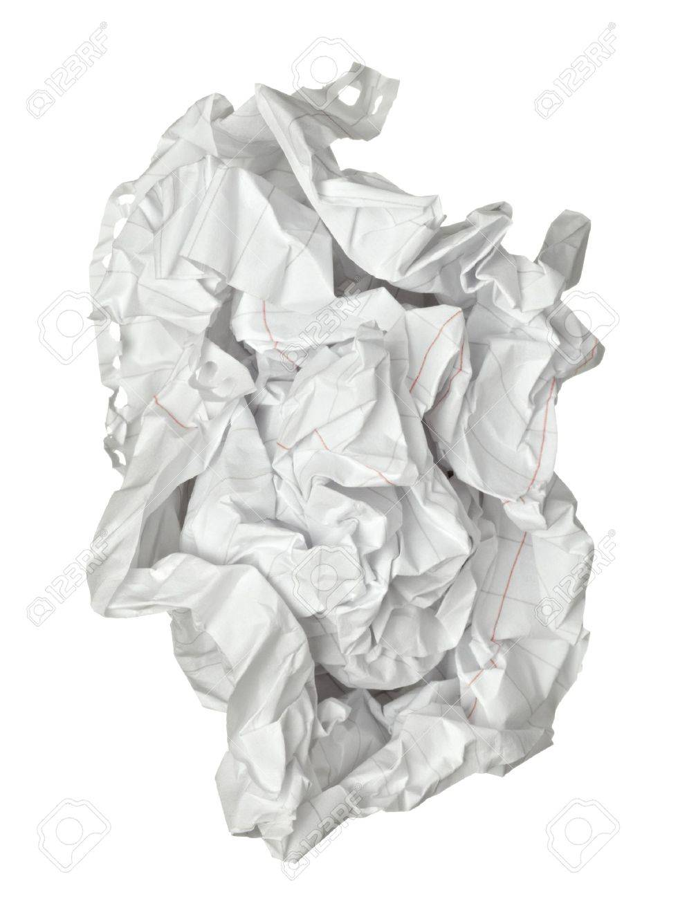 close up of a paper ball Stock Photo - 11554686