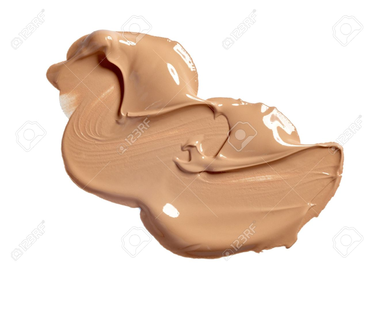 close up of  a make up powder on white background Stock Photo - 11818019