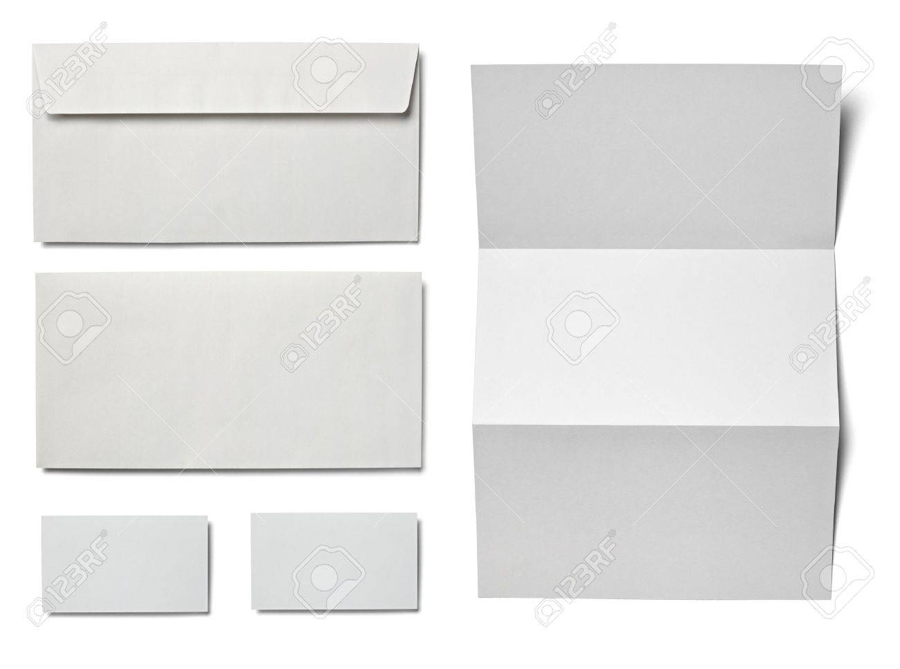 Immagini Stock Raccolta Di Vari Bianco Carta Bianca Su Sfondo