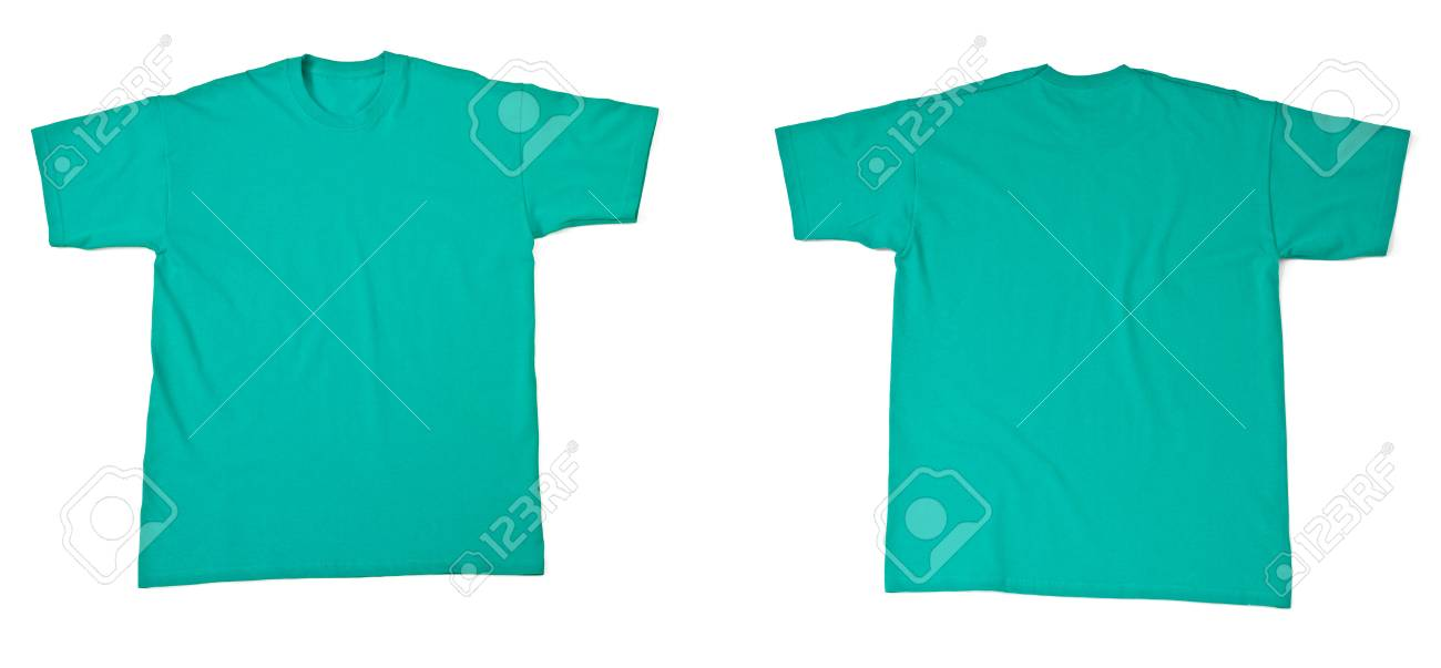collection of  various t shirts on white background. each one is shot separately Stock Photo - 13976479