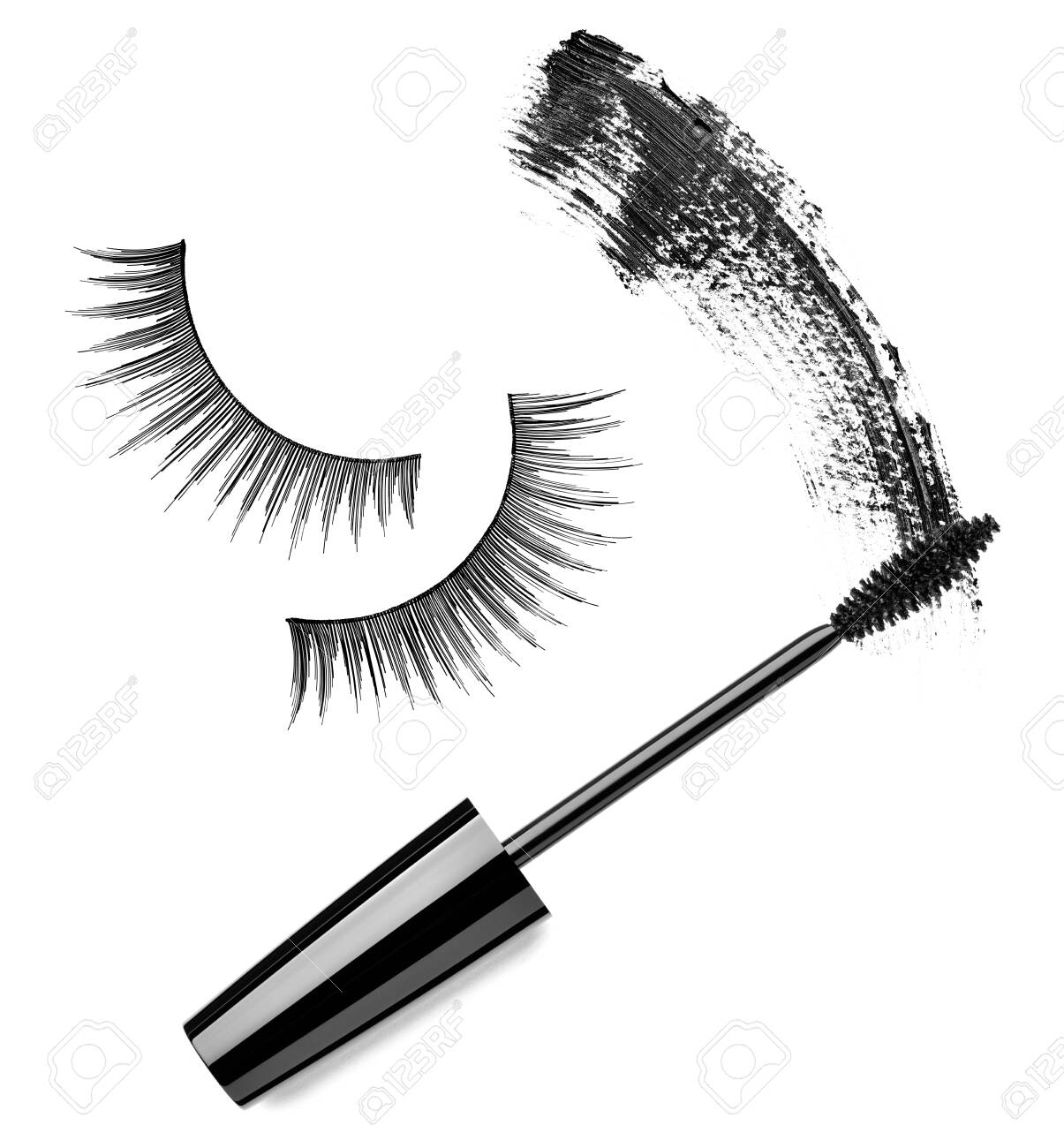 close up of a mascara on white background - 141205787