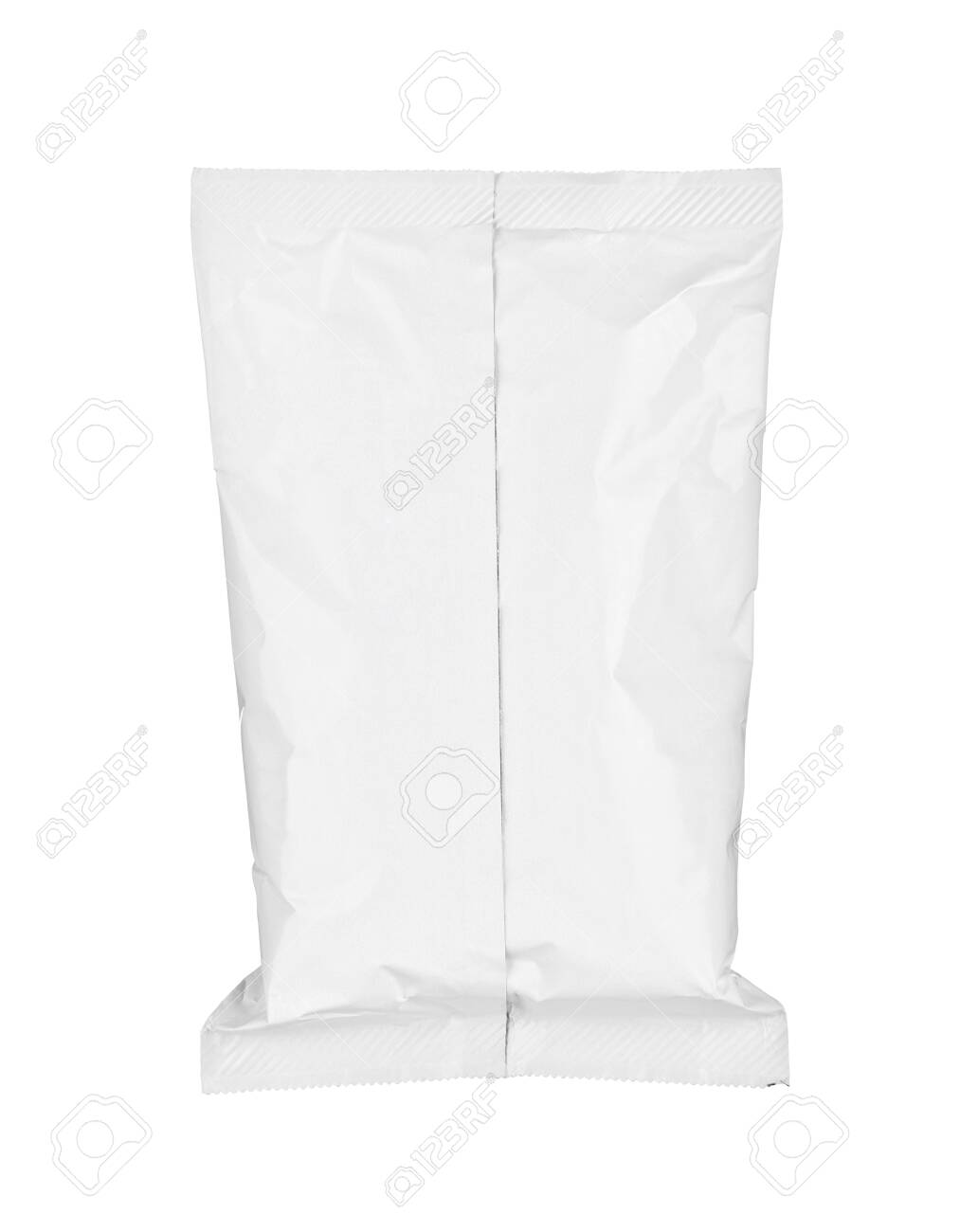 close up of various paper and aluminum bags on white background. each one is shot separately - 141205767