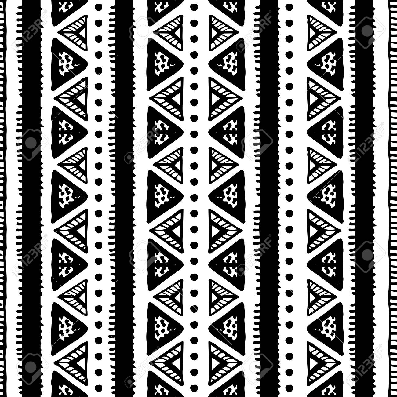 ethnic seamless pattern in native style. tribal vector seamless.. royalty  free cliparts, vectors, and stock illustration. image 112344589.  123rf