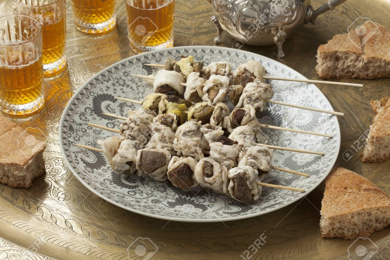Cool Moroccan Eid Al-Fitr Food - 45855298-traditional-raw-moroccan-boulfaf-for-eid-al-adha  Pic_737311 .jpg