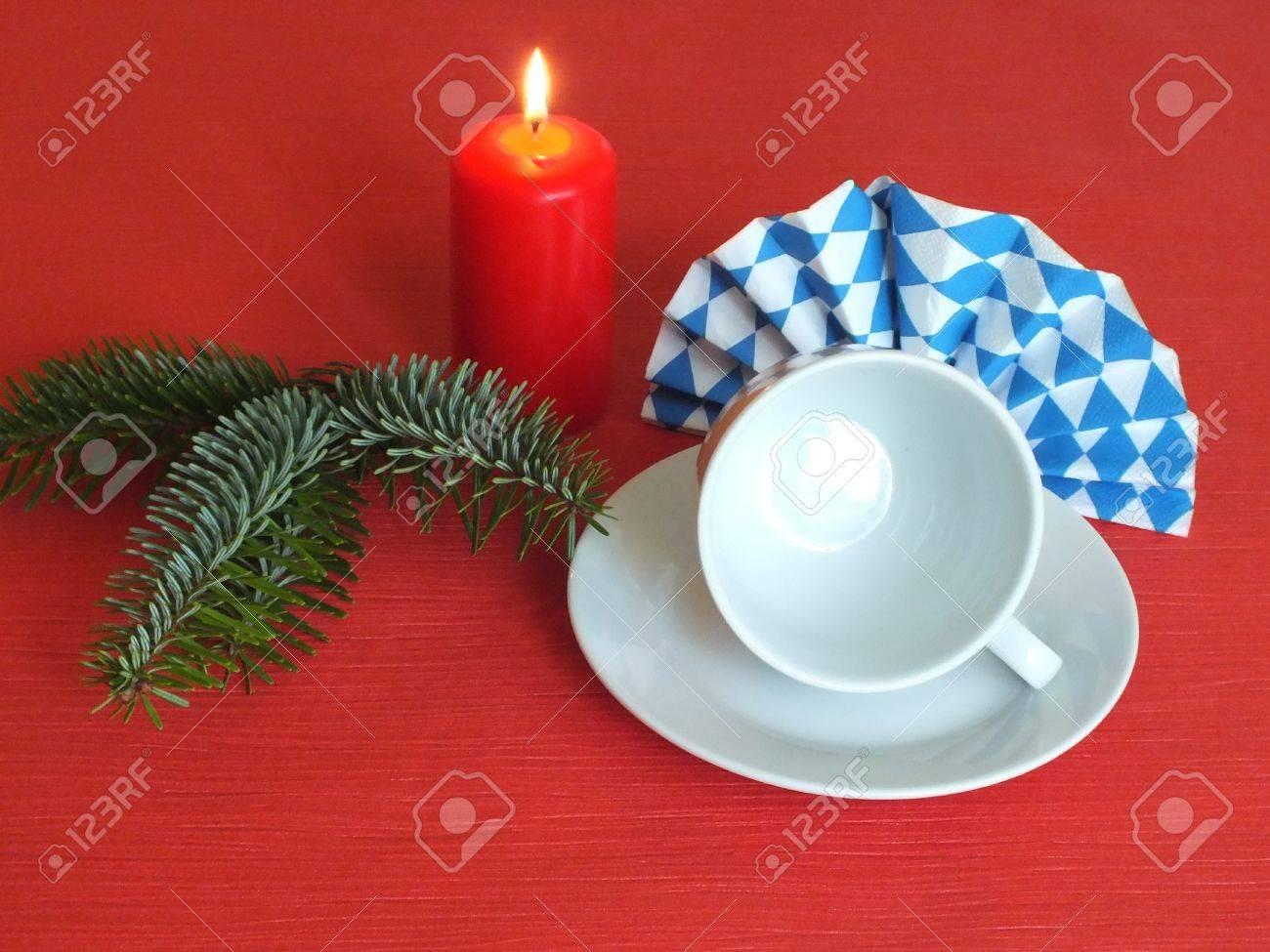 Bavarian food table christmas decorations Stock Photo - 15222717