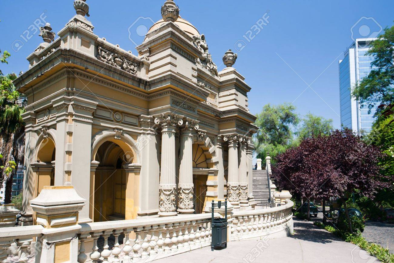 On the hill of Santa Lucia in Santiago, Chile Stock Photo - 9448140