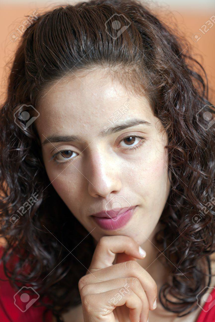Arab girl close-up photo Stock Photo - 12120607