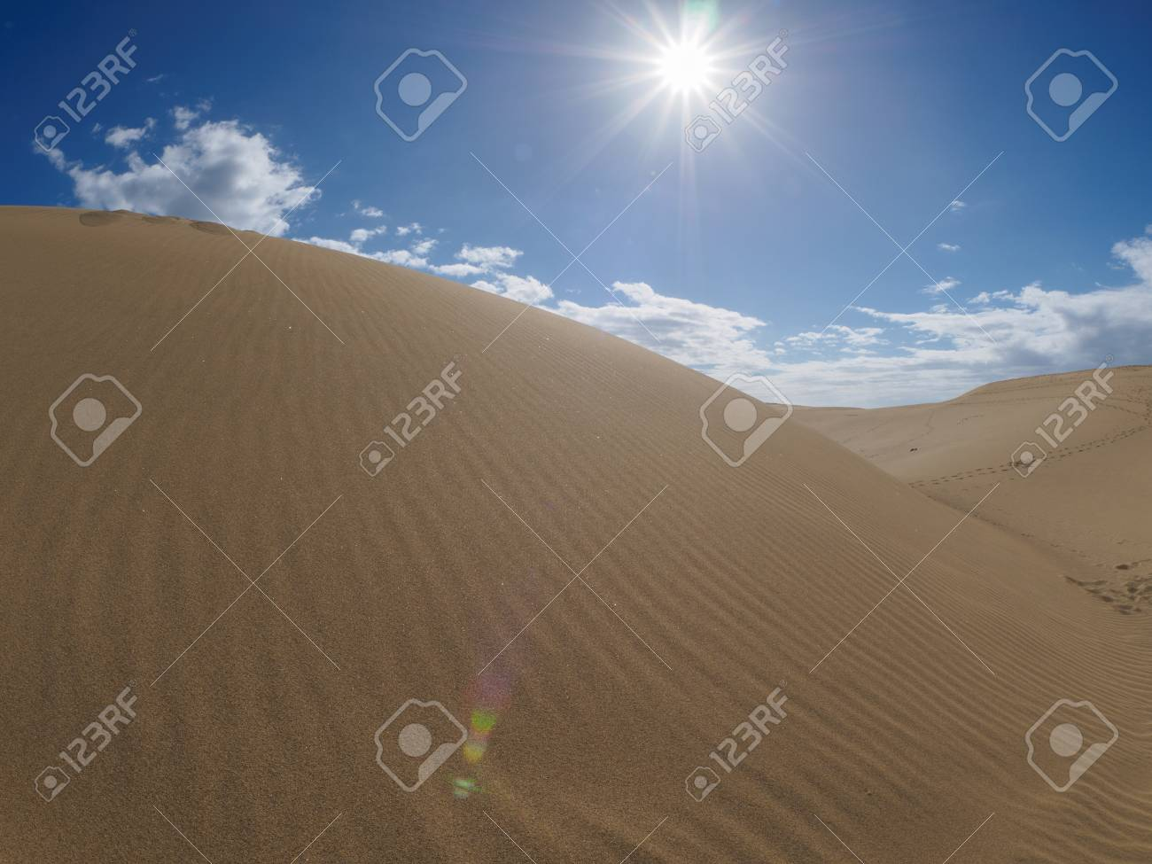 Dunes of Maspalomas Standard-Bild - 89546846